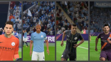 "FIFA 18 ""Форма Манчестер Сити на сезон 18-19"""