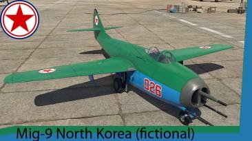 "War Thunder ""Mig-9 North Korea"""