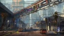 Cyberpunk 2077 - представления района Санто-Доминго в Найт-Сити