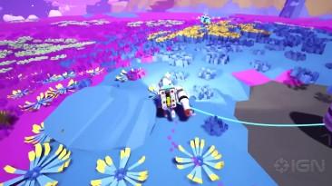 10 минут геймплея Astroneer в 1080p