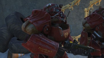 """Fallout 4 """"Окраска T-60 под СССР ( v2 update)"""""""