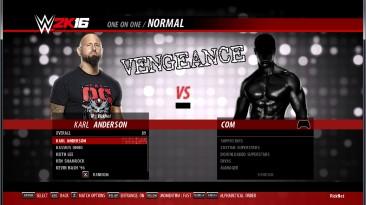 "WWE 2k16 ""Пак рендеров для Karl Anderson"""