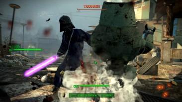 """Fallout 4 """"Светящийся световой меч"""""""