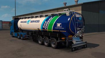 "Euro Truck Simulator 2 ""Пак трейлеров Feldbinder KIP v1.4.0 (1.39.x)"""