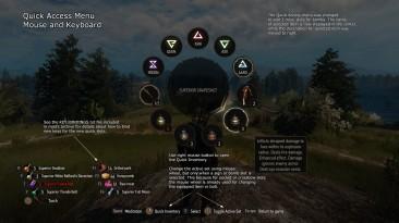 """Witcher 3: Wild Hunt """"Дополнительные слоты для быстрого использования эликсиров и бомб (рабочая версия) v. 1.30-1.32 (non-GOTY, GOTY, Steam)"""""""