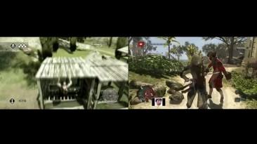 Сравнение графики: Assassin's 1 vs Assassin's 4