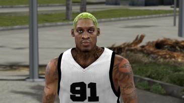 "NBA 2K10 ""Denis Rodman Cyber Faces - 11 hair styles"""