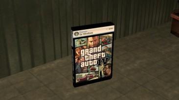 """Grand Theft Auto: San Andreas """"Пикапы сохранения из серий GTA"""""""