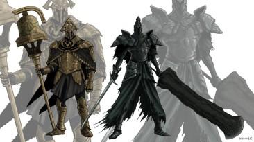 Ворон и Королевский Страж (Dark Souls 2 Лор)
