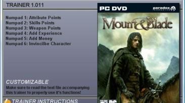Mount & Blade: Трейнер (+6) [1.011]