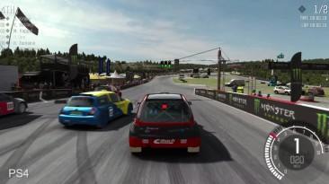 "Dirt Rally ""Сравнение графики PS4/Xbox One/PC"""
