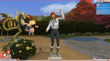"""The Sims 4 """"Черты характера неуязвимость и храбрость"""""""