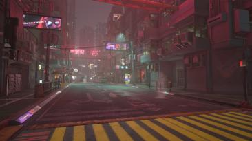 """Cyberpunk 2077 """"Кинематографичное освещение"""""""