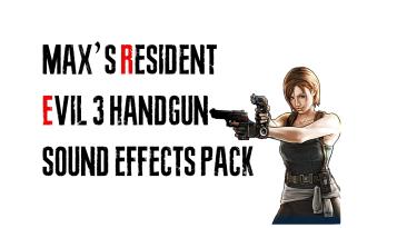 """Resident Evil 3 """"Улучшенные звуки выстрелов для всех пистолетов"""""""