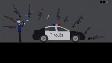 "People Playground ""Мод Полиция +"""