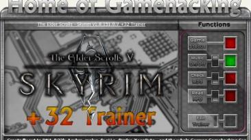 The Elder Scrolls 5 - Skyrim: Трейнер/Trainer (+31) [1.9.29.0.8 ~ 1.9.32.0.8 / Update 12 ~ 13] {sILeNt heLLsCrEAm / HoG}