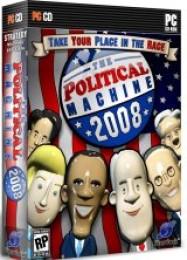Обложка игры The Political Machine 2008