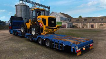 """Euro Truck Simulator 2 """"Трейлер Meusburger в собственность (1.39.x)"""""""