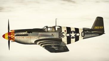 """War Thunder """"P-51C-1-NT 42-103309 Berlin Express"""""""