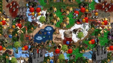 "Heroes of Might and Magic 3 ""Карта для мода MoP, Heroes of Might and Magic III: Master of Puppets"