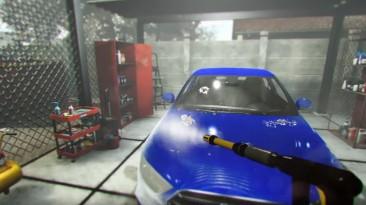 Car Wash Simulator - вышел трейлер симулятора автомойки