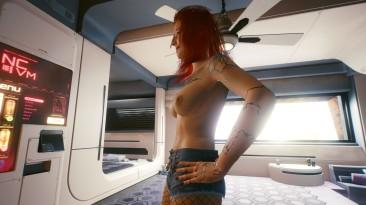 """Cyberpunk 2077 """"Улучшенные текстуры груди"""""""