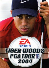 Обложка игры Tiger Woods PGA Tour 2004