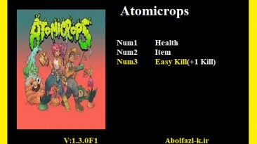 Atomicrops: Трейнер/Trainer (+3) [1.3.0F1] {Abolfazl.k}