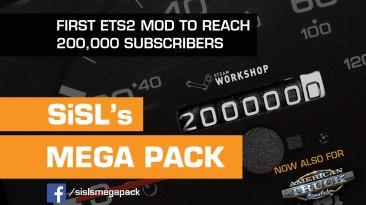 """ETS2 """"MEGA PACK SISL'S & STAR WARS DLC V2.6"""""""