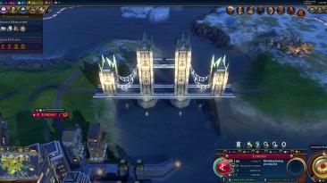 """Sid Meier's Civilization 6 """"Tower Bridge (World Wonder)"""""""