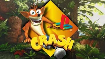 PS4 получит ремастеры Crash Bandicoot 1-3