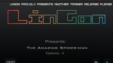 The Amazing Spider-Man: Трейнер/Trainer (+4) [1.0] {LinGon}