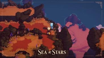 Геймплейный тизер локации Moorlands в Sea Of Stars