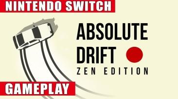 Видео игрового процесса Switch-версии Absolute Drift