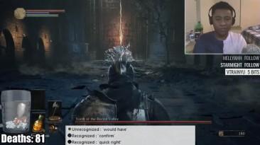 Прохождение Dark Souls 3 голосовым управлением