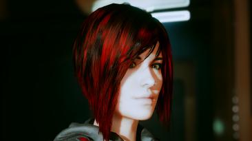"Cyberpunk 2077 ""Mirrors Edge - прическа Фейт для Ви"""