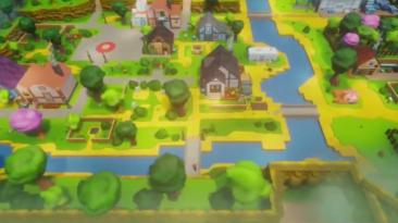 Игрок в Dreams воссоздал город из Stardew Valley