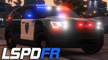 "Grand Theft Auto 5 ""Мод на полицейского - LSPDFR 0.4.8"""