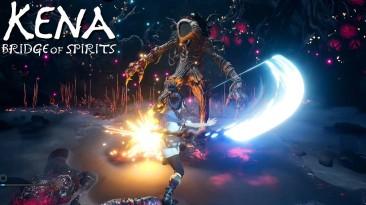 Новая демонстрация боевой системы Kena: Bridge of Spirits