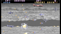 Видео геймплея шутэмапа Arcade Archives P-47