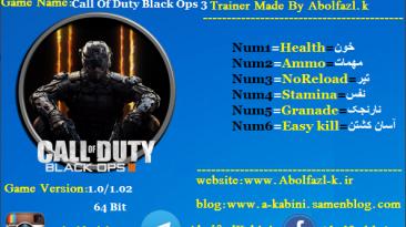 Call of Duty: Black Ops 3: Трейнер/Trainer (+6) [v1.2] {Abolfazl.k}