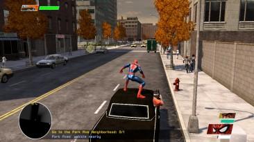 "Spider-Man: Web of Shadows ""Spider-ManPS4 HUD (new)"""