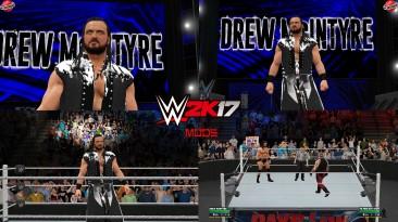 """WWE 2K17 """"Drew McIntyre WrestleMania 36 Attire WWE 2K19 Port MOD"""""""