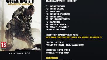 Call of Duty ~Advanced Warfare: Трейнер/Trainer (+17) [1.5] {LinGon}