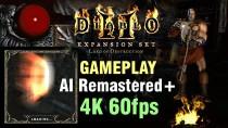 Фанат продемонстрировал, как может выглядеть Diablo 2 в 4K/60 FPS