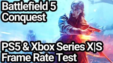 Battlefield V работает с разрешением 1080p при 120 кадрах в секунду, 4K при 60 кадрах в секунду на XSX, но не на PS5