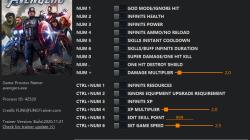 Marvel's Avengers: Трейнер/Trainer (+15) [1.0 - 1.3.Build.13.71] {FLiNG}