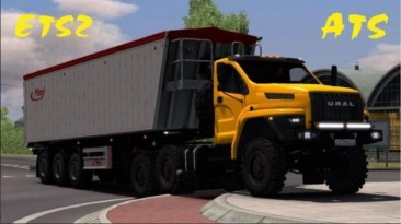"Euro Truck Simulator 2 ""Урал NEXT v1.7 (1.40.х)"""
