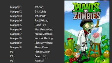 Plants vs. Zombies - GOTY Edition: Трейнер/Trainer (+13) [v1.2.0.1095] [PC | RePack от GAMER] {Enjoy}