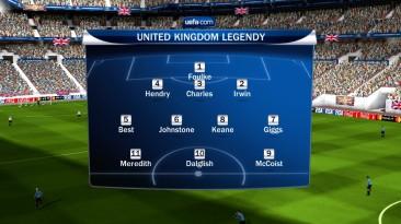 "FIFA 10 ""Легенды Великобритании"""